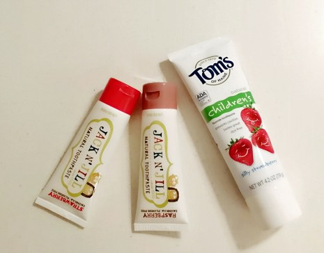 Baby Fluoride Toothpaste