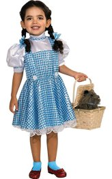 Wizard of Oz Dorothy Sequin Halloween Costume For a Toddler