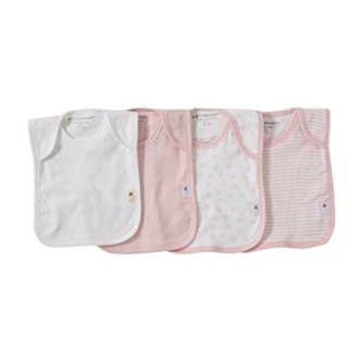 Non-Toxic Holiday Gift - Burt's Bees Baby Organic Cotton Lap Shoulder Bibs