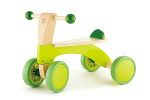 Non-Toxic Holiday Gift Ideas - Hape Scoot Around Kid's Wooden Ride On Balance Bike
