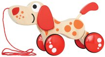Non-Toxic Holiday Gift Ideas - Hape Walk Along Wooden Pull Toy