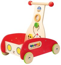 Non-Toxic Holiday Gift Ideas - Hape Wonder Walker Push and Pull Toddler Walking Toy