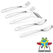 Non-Toxic Holiday Gift Ideas - Kiddobloom Early Toddler Stainless Steel Utensil Set