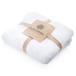 Non-Toxic Holiday Gift - The Good Baby Organic Cotton Baby Bath Towel