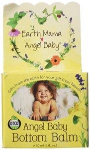 Non-Toxic, Organic Diaper Creme - Earth Mama Angel Baby Bottom Balm
