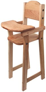 Non-Toxic Toys - Camden Rose Cherry Wood Doll High Chair
