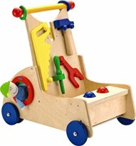 Non-Toxic Toys - Haba Walk Along Tool Cart