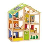 Non-Toxic Toys -Hape Wooden Doll House