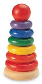 Non-Toxic Toys - Wonderworld Stacking Rings