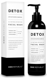 Cruelty Free Cosmetics - Chic Republic All Natural Activated Charcoal Facial Cleanser