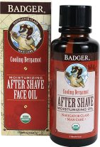 Non-Toxic Holiday Gift For Dad - Badger After-Shave Face Oil