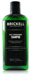 Non-Toxic Holiday Gift For Dad - Brickell Men's Daily Strengthening Shampoo for Men