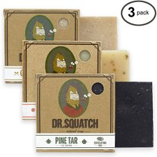 Non-Toxic Holiday Gift For Dad - Dr. Squatch Men's Soap 3 Bar Bundle Set