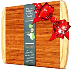 Non-Toxic Holiday Gift For Dad - Greener Chef Bamboo Cutting Board