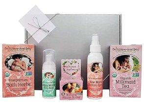 Non-Toxic Holiday Gift For Mom - Earth Mama New Mom Organic Gift Box