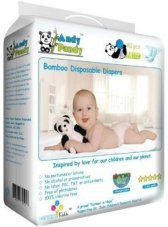 Non Toxic Disposable Diapers - Andy Pandy Eco Friendly Premium Bamboo Disposable Diapers
