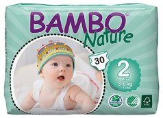 Non Toxic Disposable Diapers- Bambo Nature Baby Diapers Classic