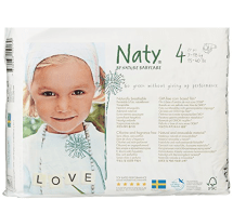 Non Toxic Disposable Diapers - Naty by Nature Babycare Eco-Friendly Baby Diapers