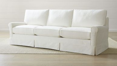 Sofa Without Flame Retardant Chemicals - Crate And Barrel Harborside Grande Sofa