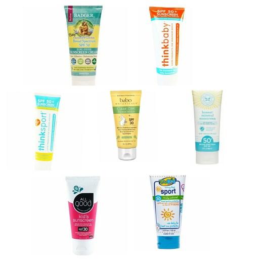Non Toxic Baby Sunscreen