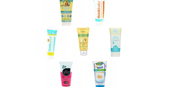 Safe Non Toxic Baby Sunscreen