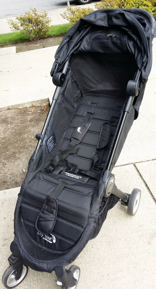 Baby Jogger City Tour Review - Reclined Seat