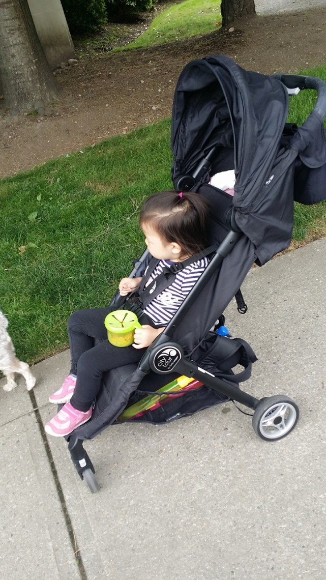 Baby Jogger City Tour Review - Side view