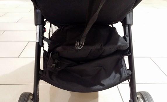 Baby Jogger City Tour Review - Storage Basket Rear View