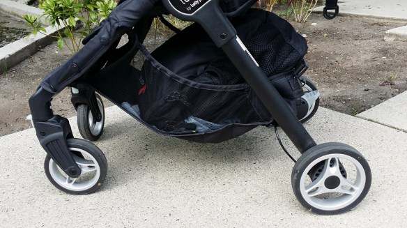 Baby Jogger City Tour Review - Storage Basket Side View