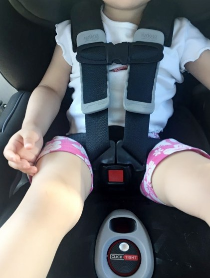 Britax Advocate ClickTight Convertible Car Seat Review - Safety Harness