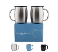 Non Toxic Mugs - Avito Insulated Stainless Steel Coffee Mugs with Lids