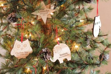 Non Toxic Christmas Decorations - Personalized Ornament
