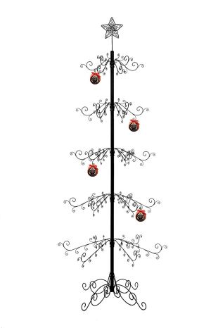 Non Toxic Christmas Tree - Hohiya Metal Ornament Display Tree