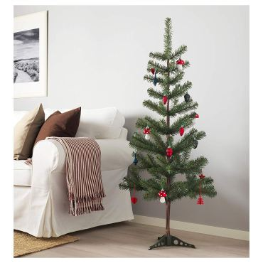 Non Toxic Christmas Trees - IKEA FEJKA Artificial Christmas Tree 59 inches