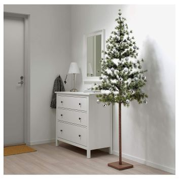 Non Toxic Christmas Trees - IKEA FEJKA Artificial Christmas Tree 7 ft 5 inches