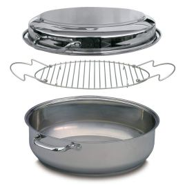 Non Toxic Turkey Roasting Pans - Camerons 3 Ply Stainless Steel Multi Roaster