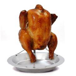 Non Toxic Turkey Roasting Rack - Livilan Stainless Steel Vertical Meat Roaster