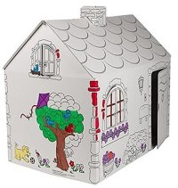 Non Toxic Toys For Toddlers - My Very Own House Coloring Playhouse