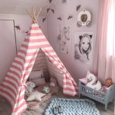 Non Toxic Toys For Toddlers - Tiny Land Kids Teepee Tent For Girls