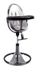 Non Toxic High Chair - Bloom Fresco Chrome Contemporary Baby High Chair