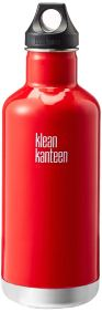 Non Toxic Travel Mugs - Klean Kanteen Classic Stainless Steel Water Bottle