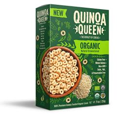 Healthy Snacks For Kids - Quinoa Queen Cereal
