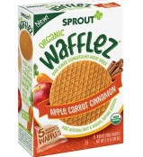 Healthy Snacks For Kids - Sprout Organic Wafflez Apple Carrot Cinammon