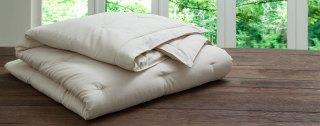 Organic Comforter - PlushBeds Natural LuxuryHandmade Wool Comforter