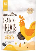 Non Toxic Dog Gifts - Full Moon Organic Human Grade Chicken Training Treats for Dogs