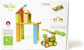 Non Toxic Gifts For Toddlers - Tegu 42 Piece Magnetic Wooden Block Set
