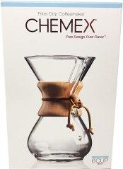Non Toxic Coffeemaker - Chemex Pour-Over Glass Coffeemaker