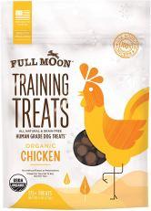 Organic Dog Treats - Full Moon Organic Human Grade Training Treats for Dogs