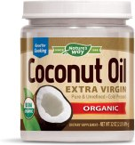 Healthy Cooking Oil - Nature's Way Organic Extra Virgin Coconut Oil, Pure & Unrefined, Cold-Pressed