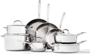 Stainless Steel Cookware - OXO Good Grips Tri-Ply Stainless Steel Pro 13 Piece Set